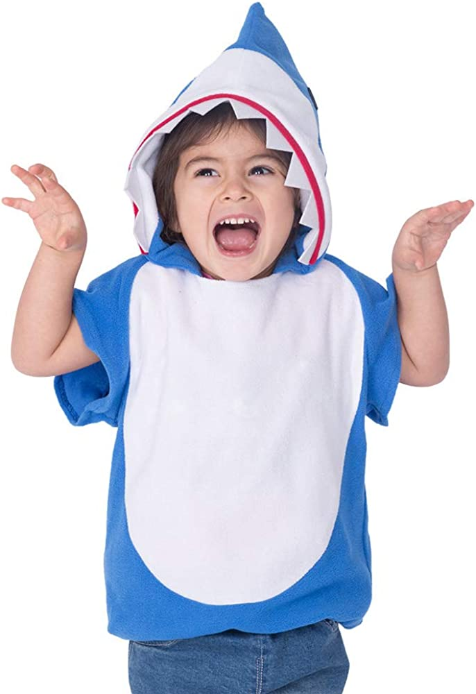 Coskidz Children's Shark Costume Halloween Multicolor Hoodie