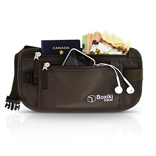 Boxiki travel Money Belt Blocking