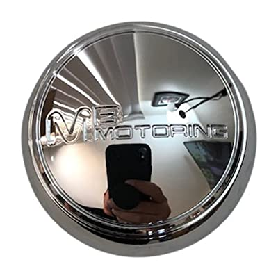 MB Wheels MB Motoring 2131454-1 82334 Chrome Wheel Center Cap: Automotive
