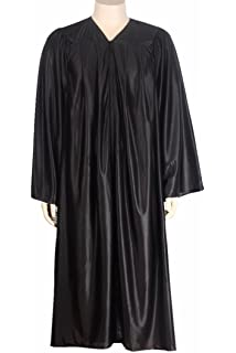 Amazon.com: Matte Black Graduation Cap and Gown Set in Multiple ...
