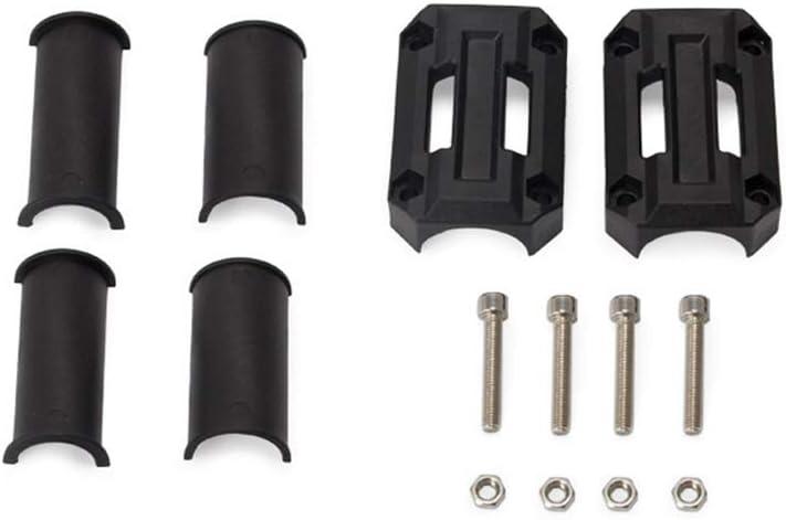 Universale Blocchi Decorativi per Paraurti Moto Protezione del Motore Protezione Della Barra di Sicurezza Cursori per Protezioni Motore