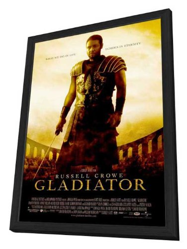 Amazon Gladiator 27 X 40 Framed Movie Poster Posters Prints