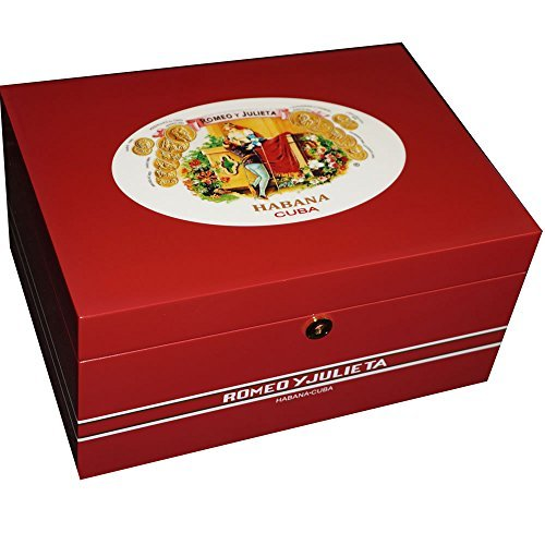 Amazon.com: Mardi Gras Humidor - High Lacquer Red Finish - 100 Cigars (13 1/2 x 9 1/2 x 61/2): Home & Kitchen