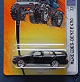 Matchbox Black Mercedes Benz E430 #22 Mbx Metal