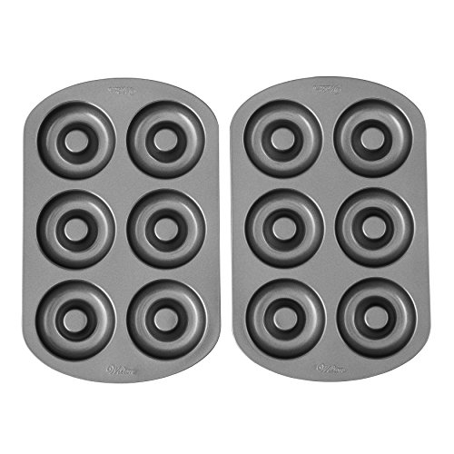 (Wilton Non-Stick 6-Cavity Donut Baking Pans, 2-Count )
