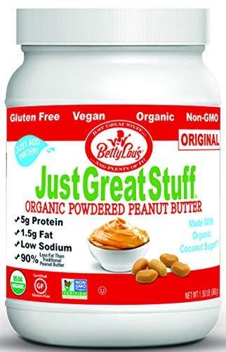 Betty Lou's Organic Powdered Peanut Butter, 1.5 Pound ()