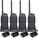 Retevis H-777S Two-way Radios Rechargeable Walkie Talkies with USB Charger (4 pack)