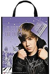 """Justin Bieber Deluxe Favor Bag, 13 x 11"""""""