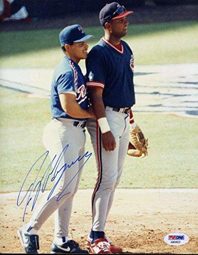 Ivan Rodriguez Autographed Photo - 92 Allstar Original Image 1 1 8x10 - PSA/DNA Certified - Autographed MLB Photos - Ivan Rodriguez Autographed Photo