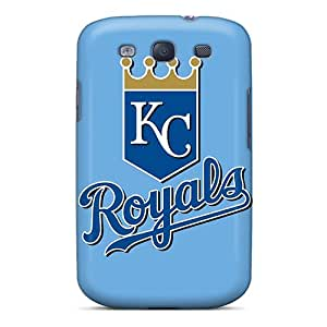 LauraFuchs Samsung Galaxy S3 Comfortable Phone Hard Cover Allow Personal Design High Resolution Baseball Kansas City Royals 2 Series [qaY19744nXoS]