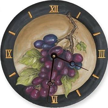 Lexington Studios Vinyard Grape Round Clock