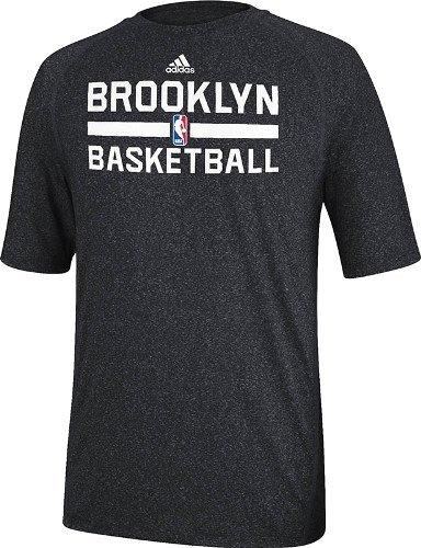 Adidas Brooklyn Nets 2013 NBA Practice Climalite Performance T-Shirt