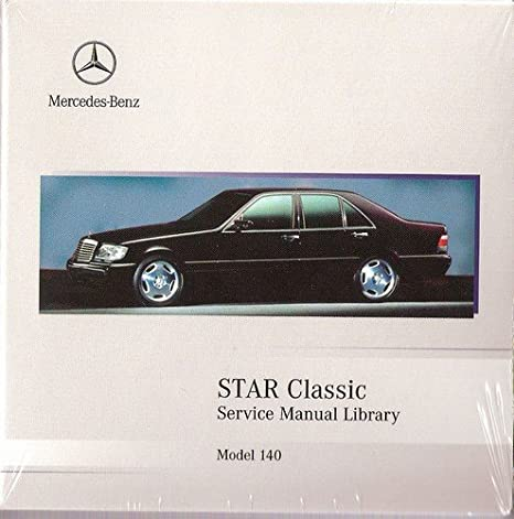 Amazon Com 1992 1999 Mercedes Benz S500 S600 S420 S320 Star Classic Service Manual Library Everything Else