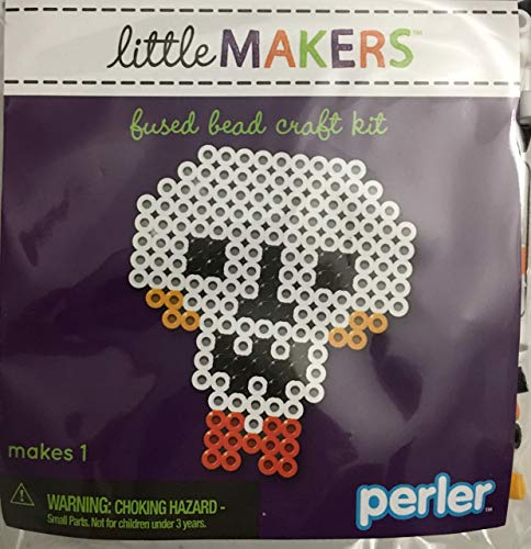 Halloween Perler Patterns (Perler Little Makers Fused Bead Craft)