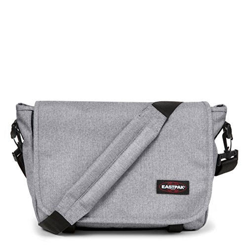 Eastpak Jr Messenger Bag, 33 cm, 11.5 L, Grey (Sunday Grey)