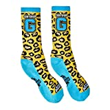 Enzo Cass You Can't Teach That WWE Blue Mens Socks-S