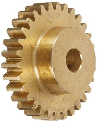 Boston Gear Spur Gear, Brass, Inch, 24 Pitch