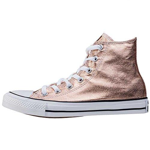 Converse Chuck Taylor All Star Metallic High Sneaker - Zapatillas abotinadas Unisex adulto Bronce