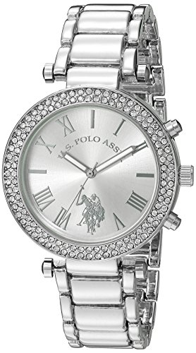 U.S. Polo Assn. Women's Quartz Silver-Toned Dress Watch (Model: USC40172) ()