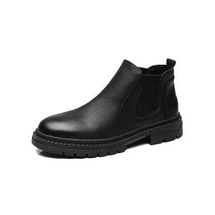 2018 botas New Coming, Los botines elegantes de Chelsea para hombre, son botines casuales