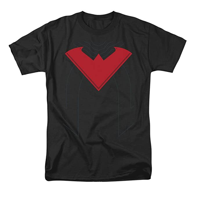 Amazon Dc Comics Nightwing Red Symbol Mens T Shirt Clothing