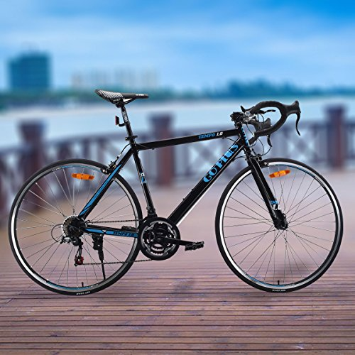 Goplus-Road-Bike-Commuter-Bike-Shimano-700C-Aluminum-21-Speed-Quick-Release-Racing-Bicycle