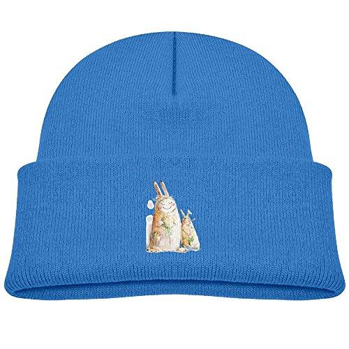 Cartoon Rabbit Children's Knit Beanie Warm Cap Unisex Kids Hat For Boys/GirlsOne Size Royalblue (Rayman Golf)