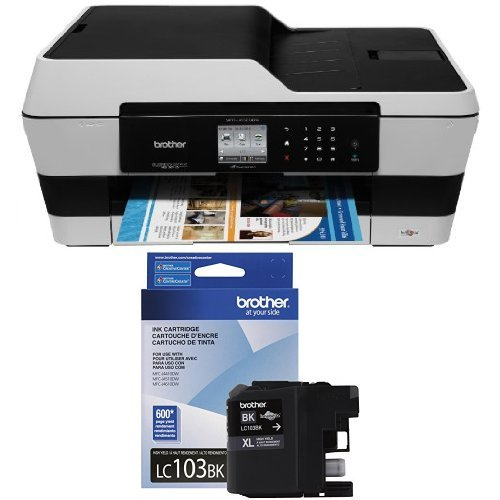Brother-Printer-MFC-J6520DW-Wireless-Color-Printer-with-Scanner-Copier-and-Fax