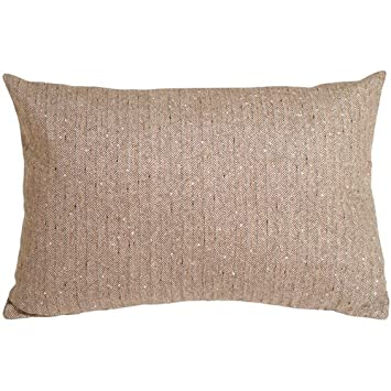 Amazon.com: Almohada decor – Herringbone verde cuadrado ...