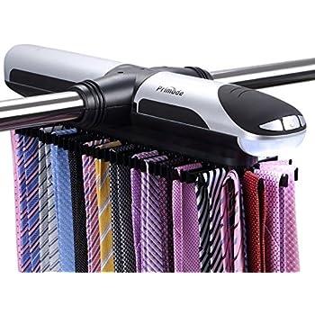 Tie rack hanger the original necktie cross for Motorized tie racks for closets