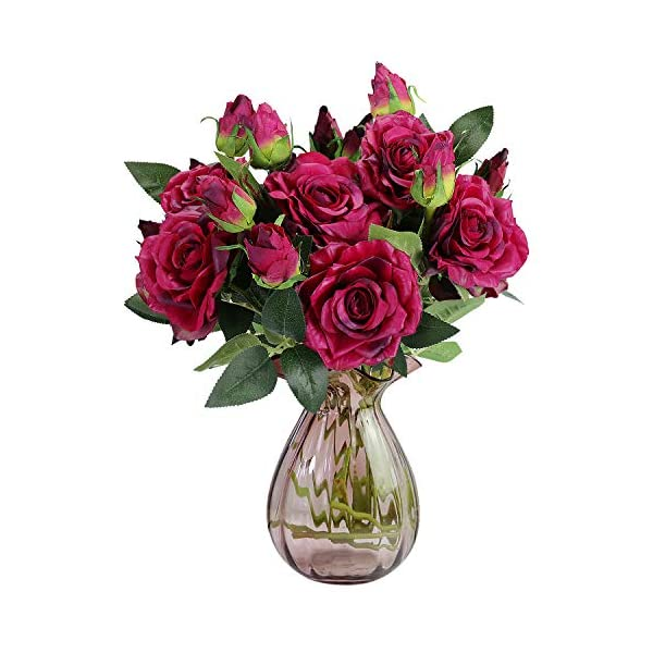 RERXN-Artificial-Flowers-2-Heads-Long-Stem-Pu-Rose-Bouquet-Real-Touch-Flowers-Home-Wedding-Party-Decor-Pack-of-5