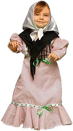 Juguetes Fantasia - Disfraz madrileña chulapa 7-12 meses: Amazon ...
