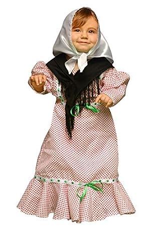 Juguetes Fantasia - Disfraz madrileña chulapa 7-12 meses