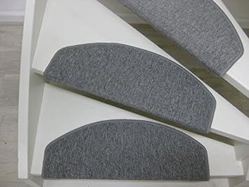 Bali 15 Tappeti per scalini - passatoie per singoli gradini 65 x 25 cm marrone, beige, antraciet, grigio (beige) Teppichwahl
