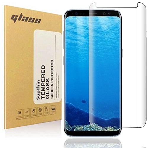 Galaxy S8 Plus Screen Protector SupThin Full Coverage HD Clear Anti-Scratch Protective Film Screen Protector for Samsung Galaxy S8