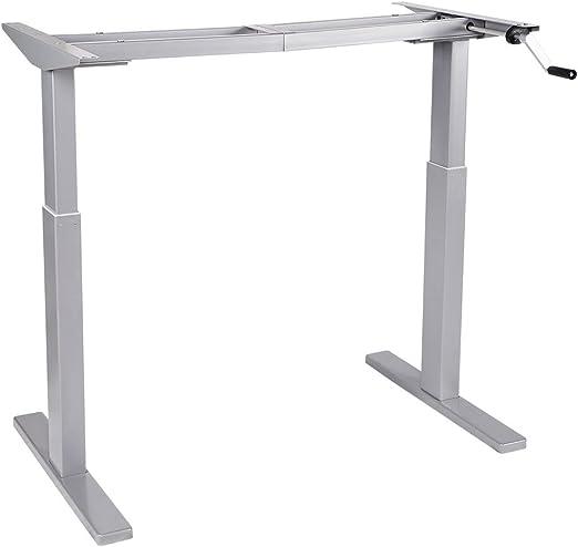 Flexispot W1 R/äder f/ür H/öhenverstellbarer Schreibtisch