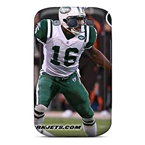 RTP12769dnjq New York Jets Fashion Tpu S3 Case Cover For Galaxy