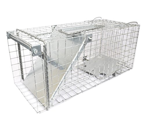 """Metal cage trap with one entry 2088"""", B115 (2088"""")"""