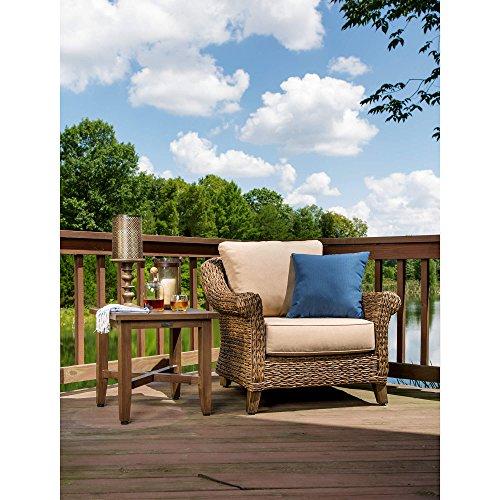 Blue Oak Outdoor Bahamas Patio Furniture Aluminum Side