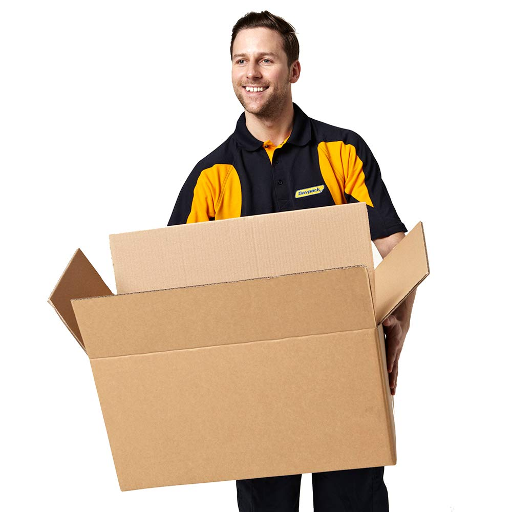 10 x Davpack Double Wall Cardboard Boxes 750L x 250W x 350H mm Ref ADW193B - 300+ Sizes Available