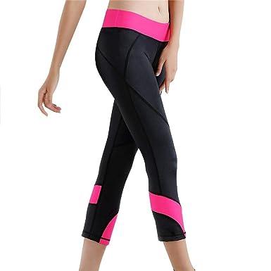 Fliegend Damen 34 Leggings High Waist Yoga Hose Mit Taschen