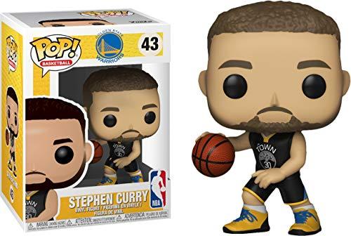 Funko POP! NBA: Warriors - Stephen Curry]()