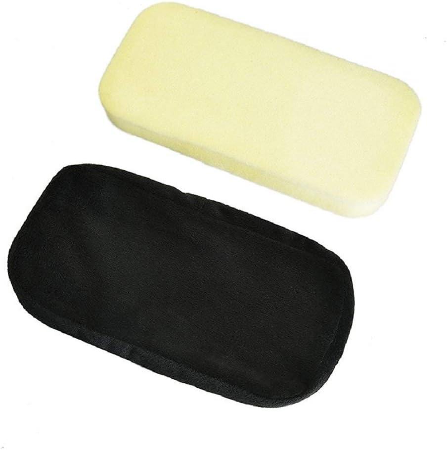 Amusingtao Accoudoir Housse Tapis Console Coussin Doublure Housse en Cuir Pad Bras Support Sup/érieur pour 2016-2018 Tiguan MK2 Noir