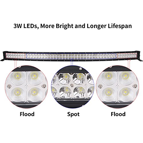 Northpole-Light-Curved-SpotFlood-LED-Light-Bar-Jeep-Off-road-Light-Bar-Driving-Fog-Light