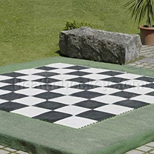 Rolly Toys Large Indoor / Outdoor Chess and Checkers Game Board