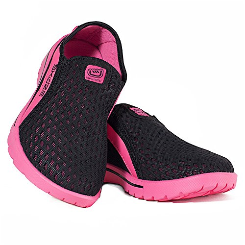 Zapatos Unisex Venecia Skuze Negro / Rosa