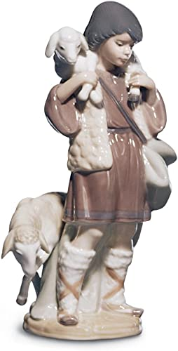 Lladro Shepherd Boy Figurine