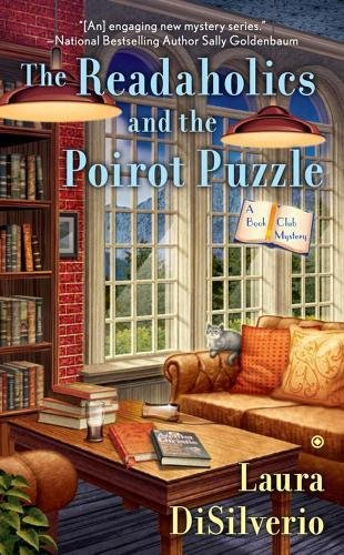 book cover of The Readaholics and the Poirot Puzzle