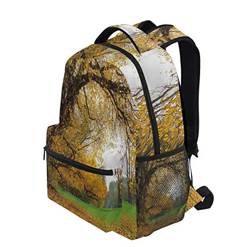 KVMV Big Ancient Oak Tree Lightweight School Backpack Students College Bag Travel Hiking Camping - Two Ancient Oak Light