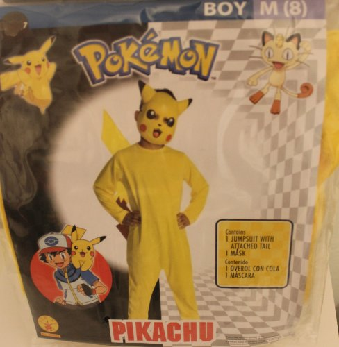 Picachu Costumes (POKEMON PICACHU COSTUME - MEDIUM by)